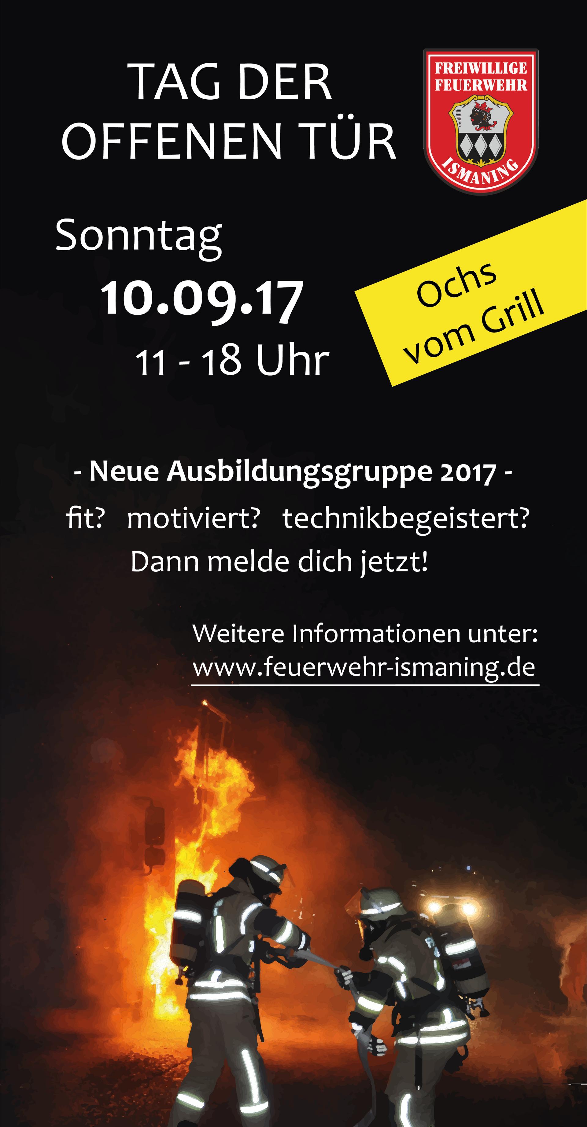 Tag der offenen tür 2017  Freiwillige Feuerwehr Ismaning - Tag der offenen Tür 2017